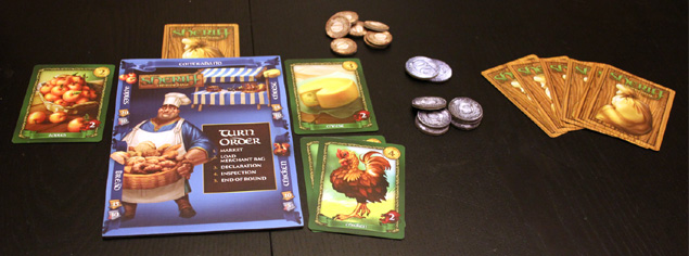 Sheriff of Nottingham player setup
