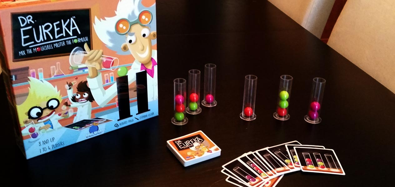 Dr. Eureka from Blue Orange Games