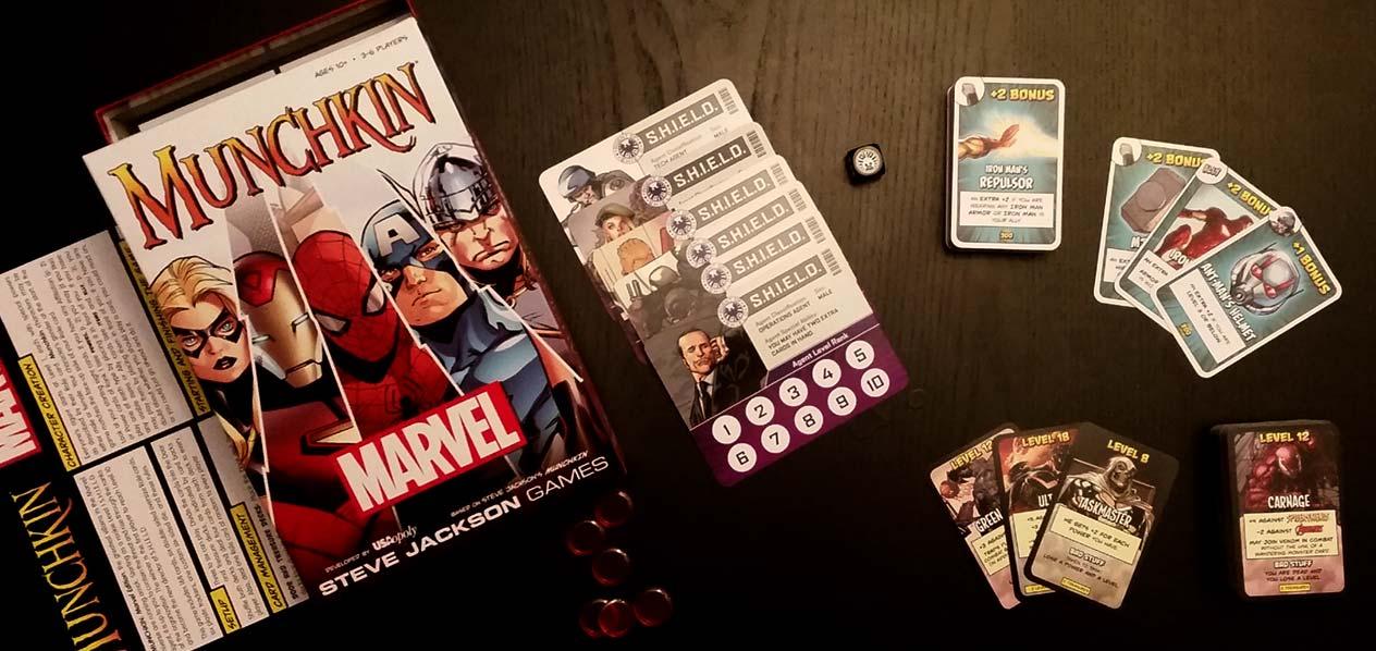 Review: Munchkin Marvel