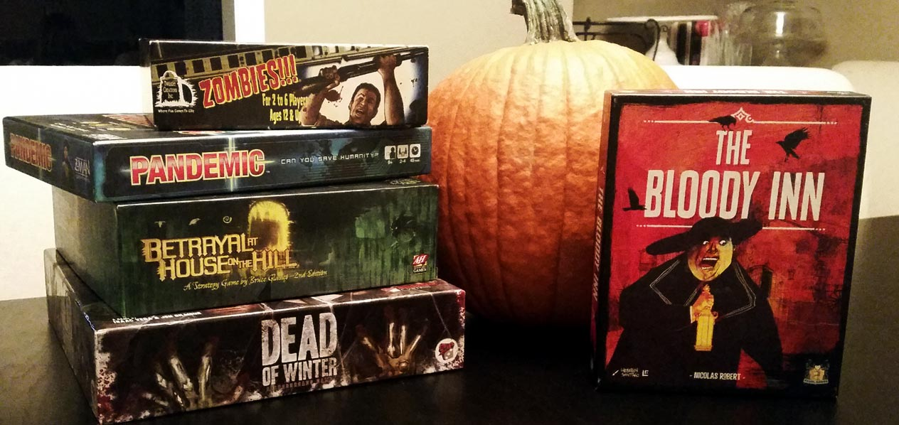 Games for Your Halloween Game Night