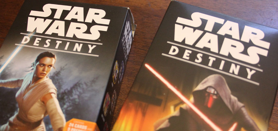 Star Wars Destiny starter packs