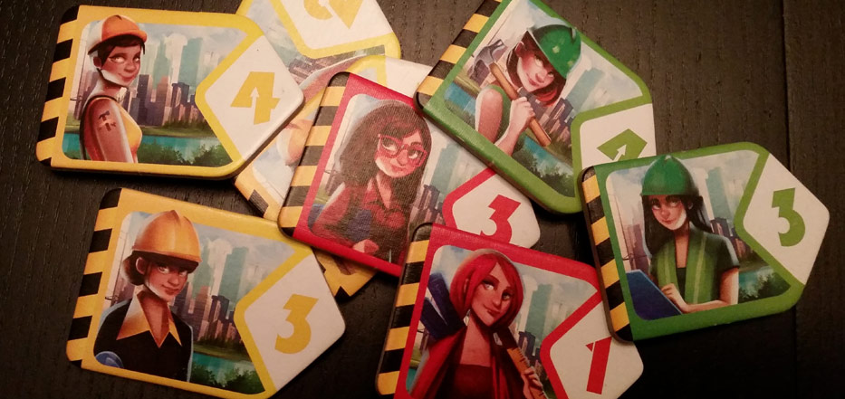Quadropolis Female Tokens