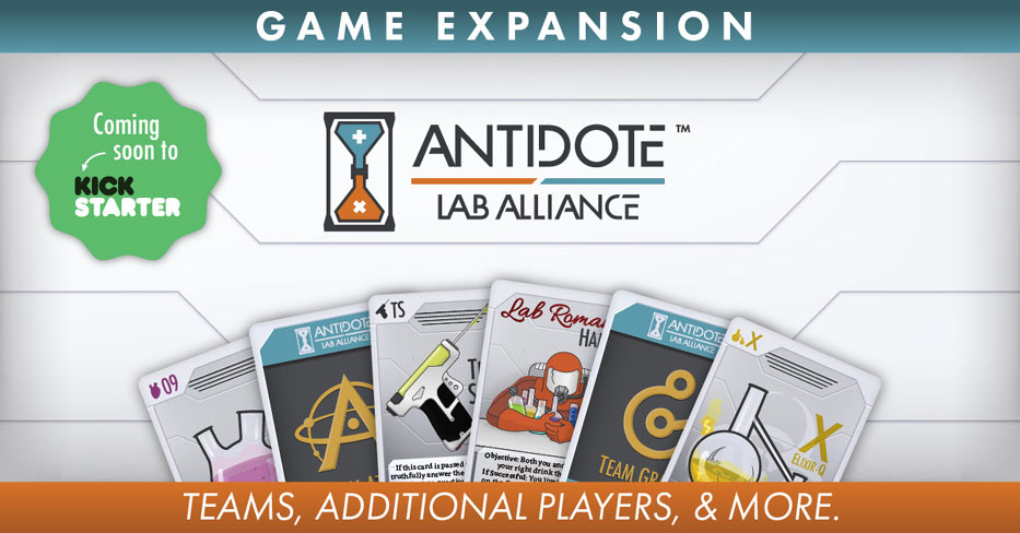 Antidote Lab Alliance Kickstarter