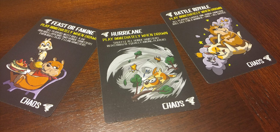 Gyrating Hamsters chaos cards