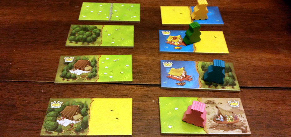 Turn order in Kingdomino