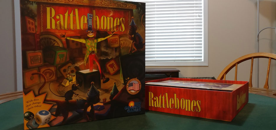 Rattlebones from Rio Grande Games