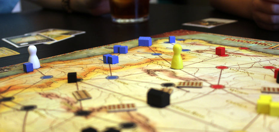 Cooperative games like Pandemic Iberia ease new players into new games.