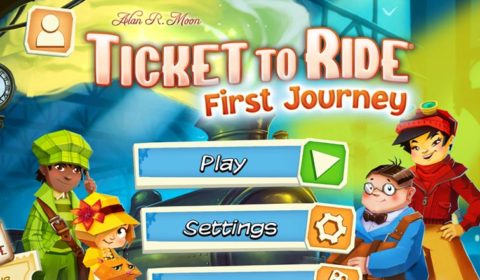 App Review: Ticket to Ride: First Journey
