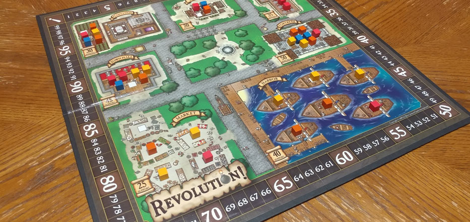 Revolution! game board