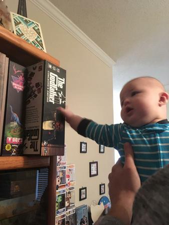 The Funkhouser's little gamer