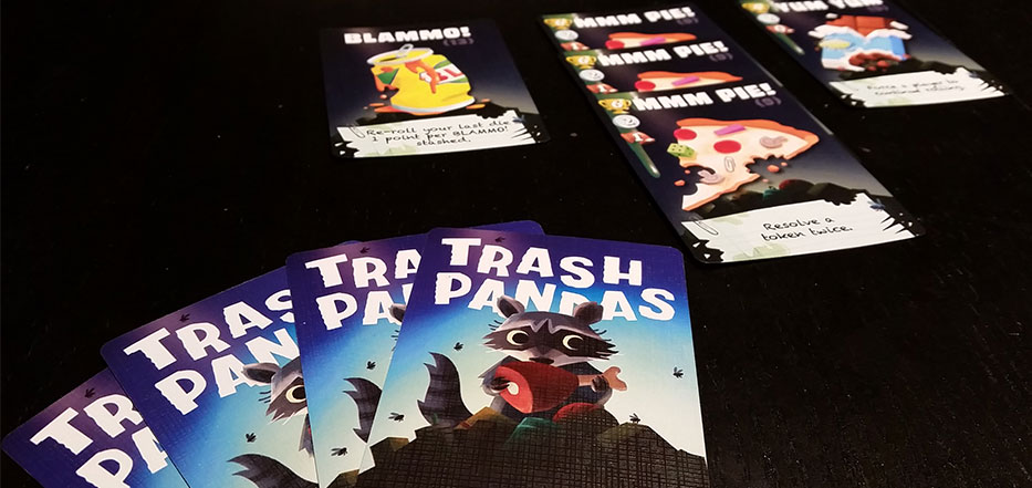 Trash Pandas cards