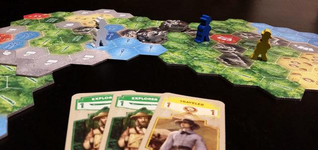 Quest for El Dorado explorers