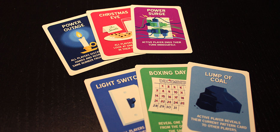 Christmas Lights event cards