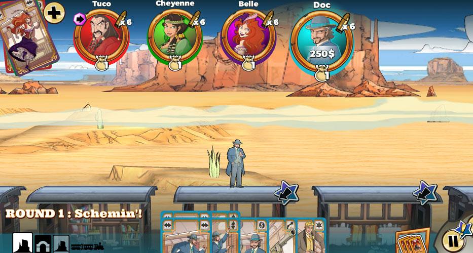 Colt Express gameplay