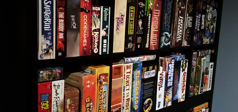 Game Shelf Staples