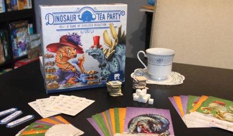 Dinosaur Tea Party Review