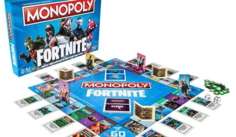 Fortnite Gets the Monopoly Treatment