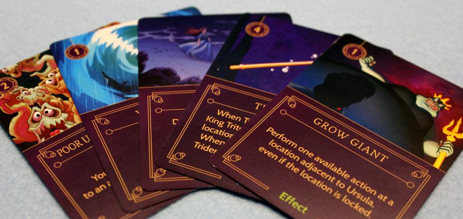 Villainous Ursula cards