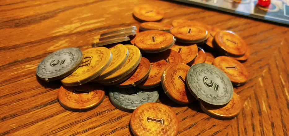 Istanbul the Dice Game coins