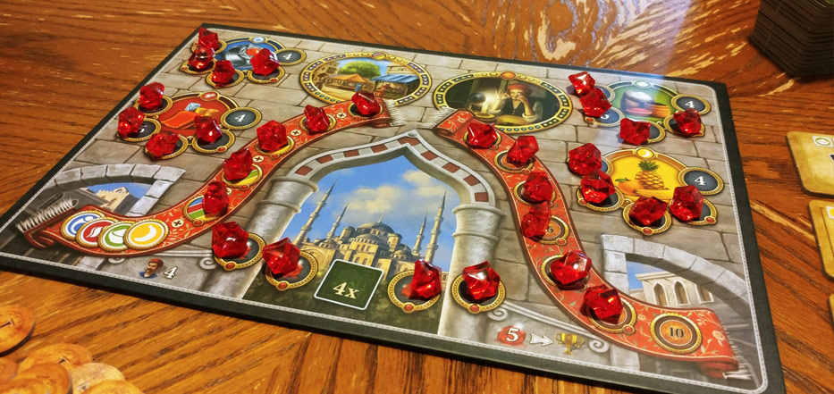 Istanbul the Dice Game rubies