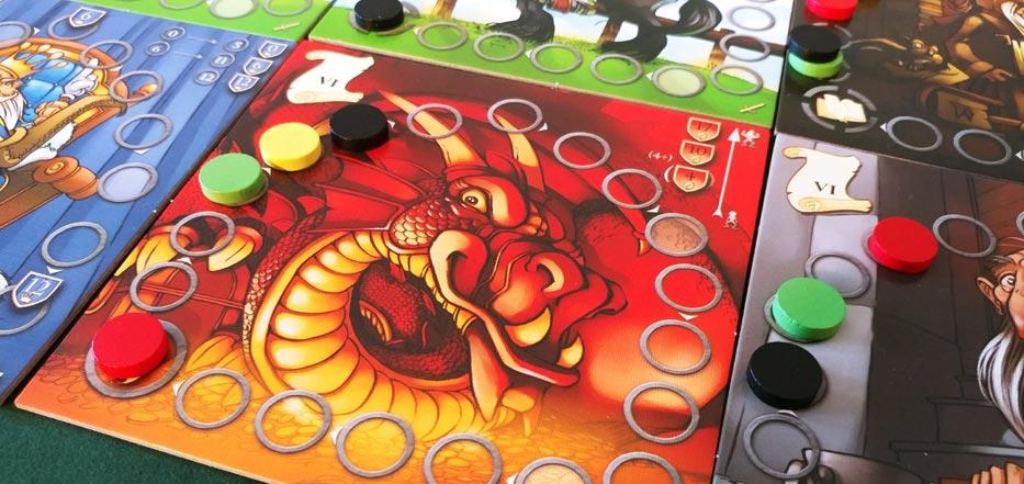 Medieval Academy dragon tile