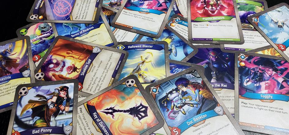 KeyForge cards