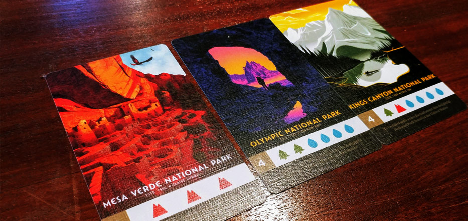 Parks - National Parks cards