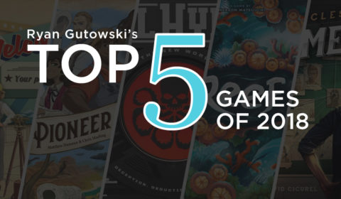 Ryan's Top 5 of 2018