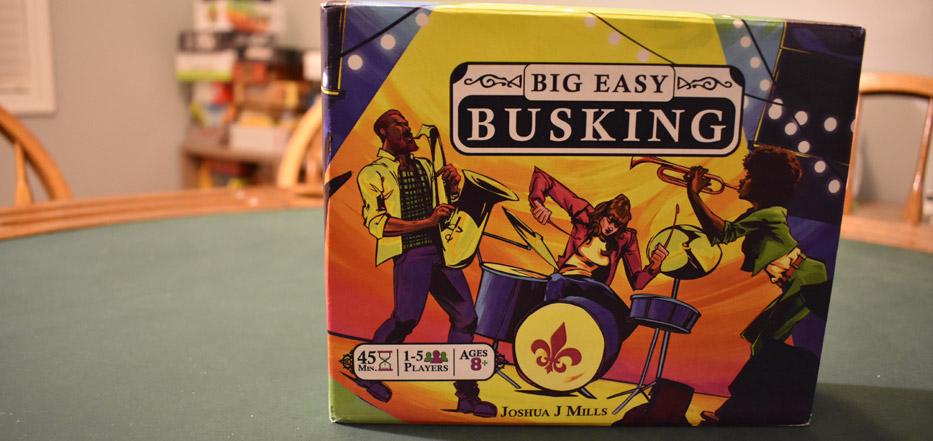 Big Easy Busking box