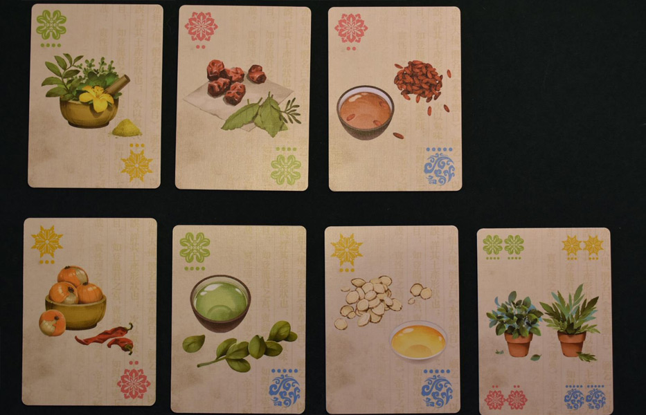 Herbalism option cards