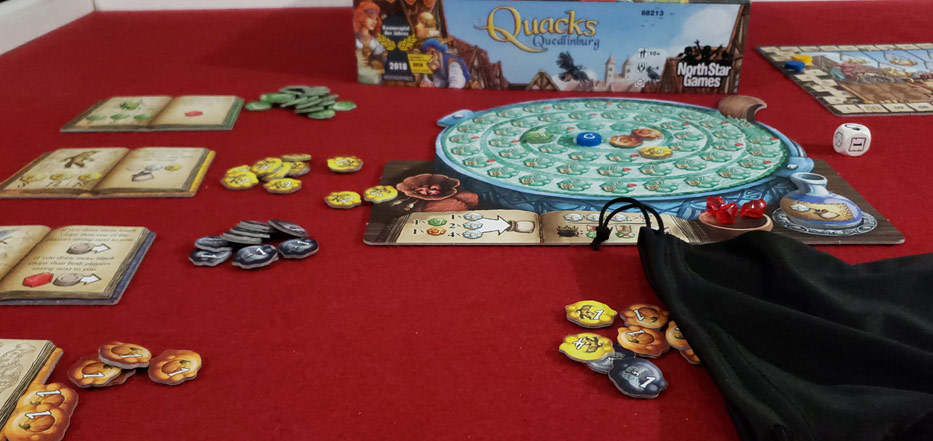 Quacks of Quedlinburg player board