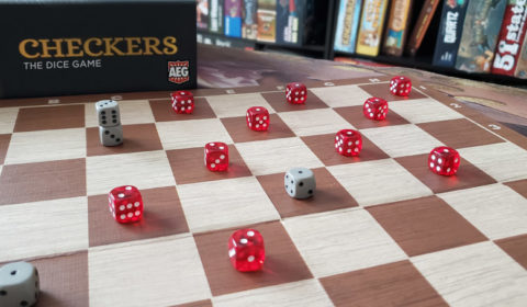 AEG Announces Checkers: The Dice Game