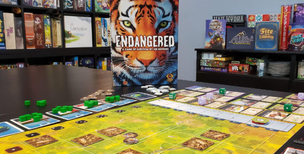 Endangered Kickstarter Preview