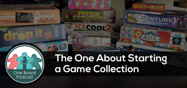S4E10 – The One About Starting a Game Collection