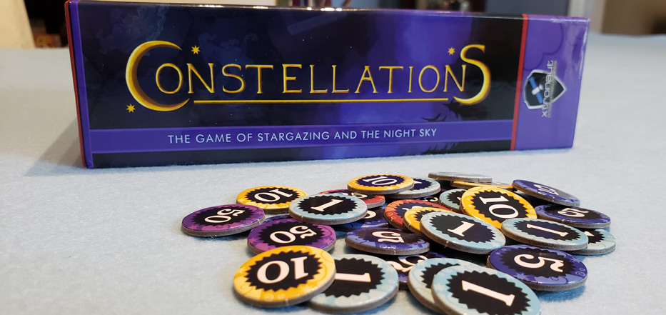 Constellations point tokens