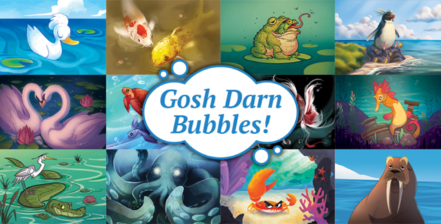 Gosh Darn Bubbles Preview