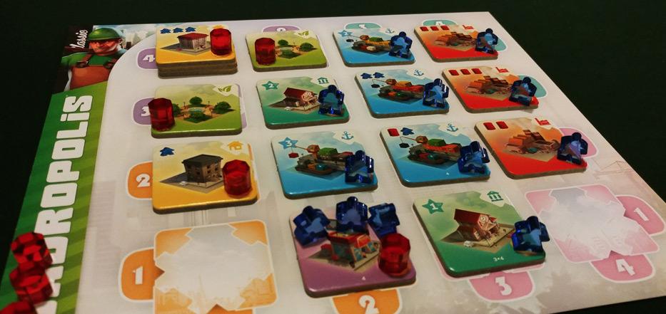 Quadropolis player board