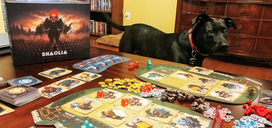 Shaolia dog opponent