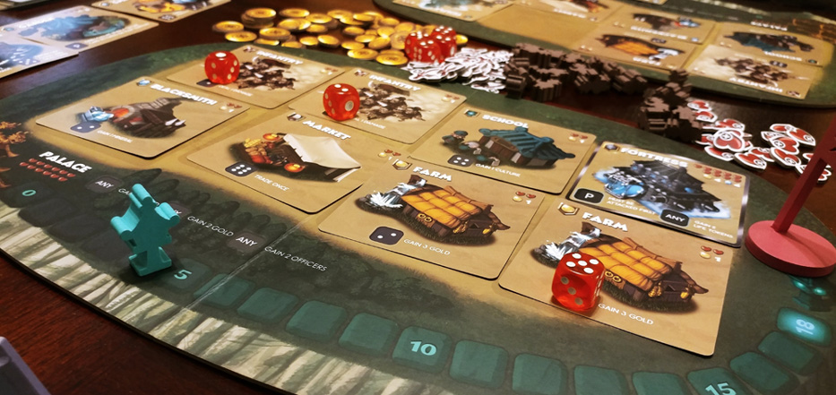 Shaolia player board
