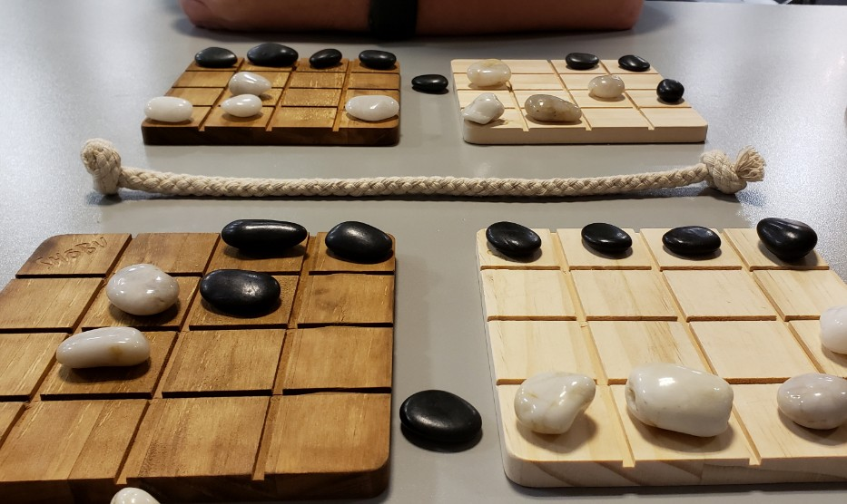 Shobu board layout