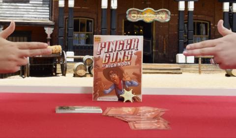 Finger Guns at High Noon Review