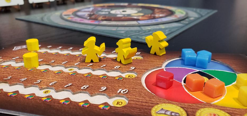 Colors of Paris player board