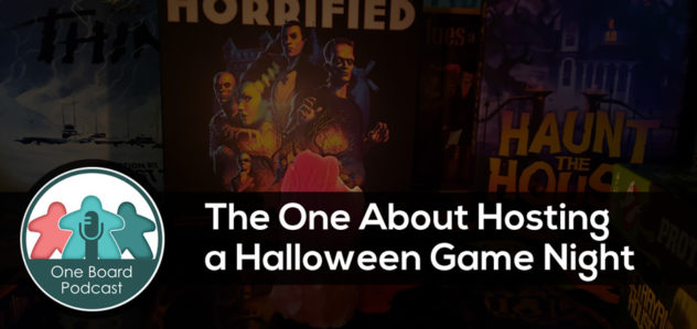 S5E06 – The One About Hosting a Halloween Game Night