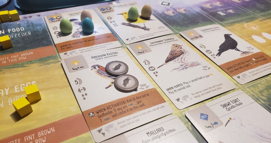 Wingspan from Stonemaier Games