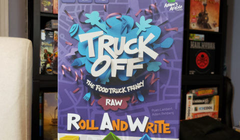 Truck Off: Roll and Write Review