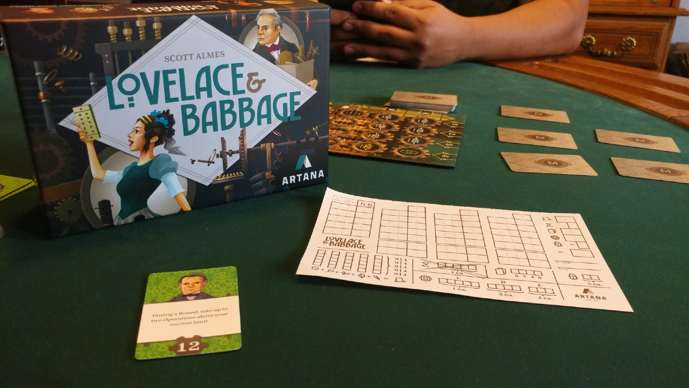 Lovelace and Babbage Review