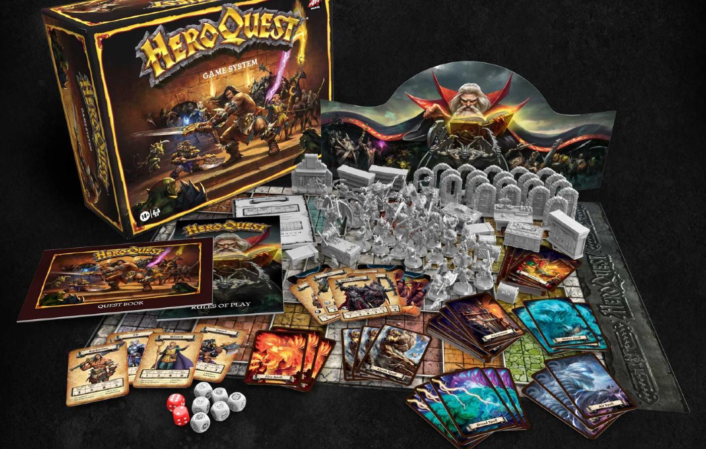 HeroQuest 2020 rebuild