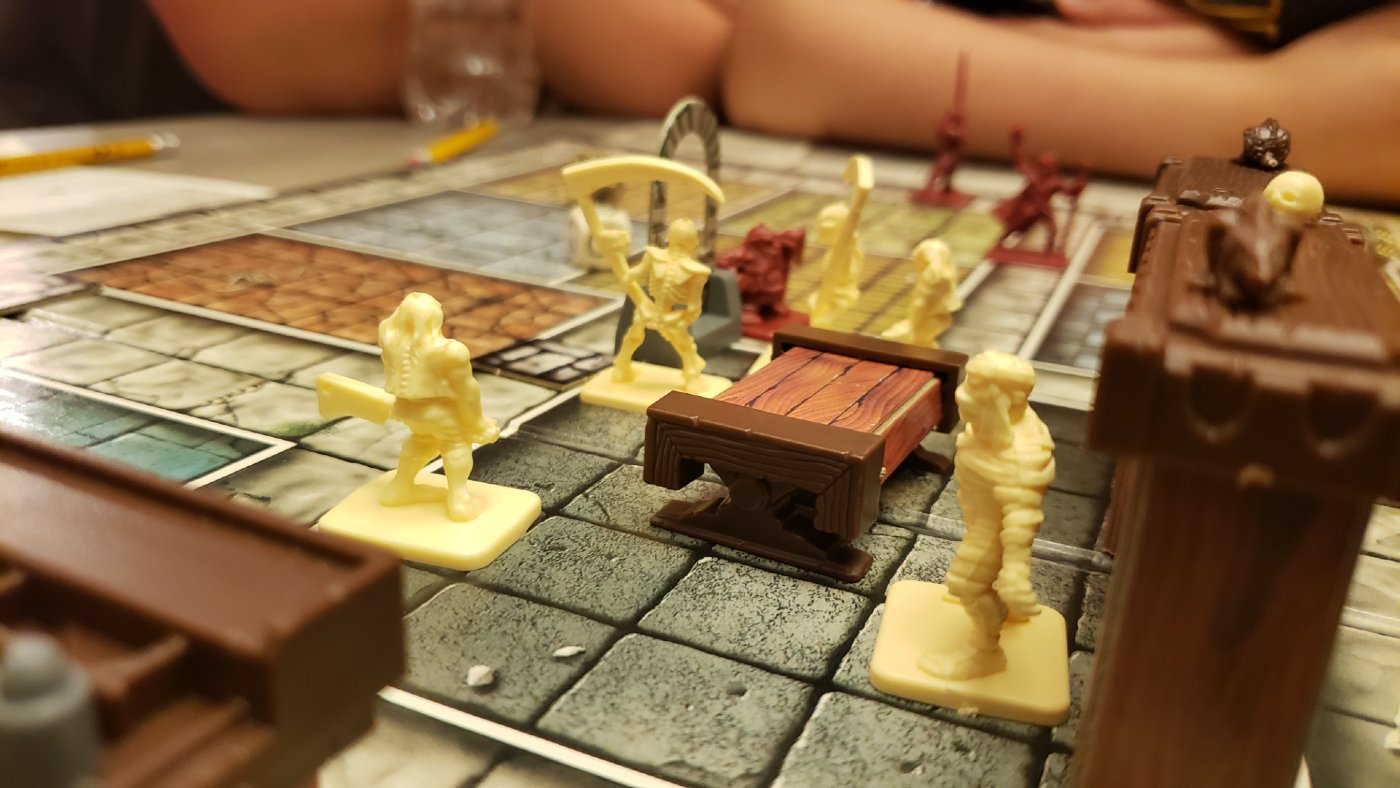 HeroQuest board