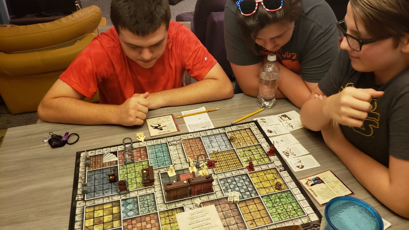 HeroQuest with my son and his cousins