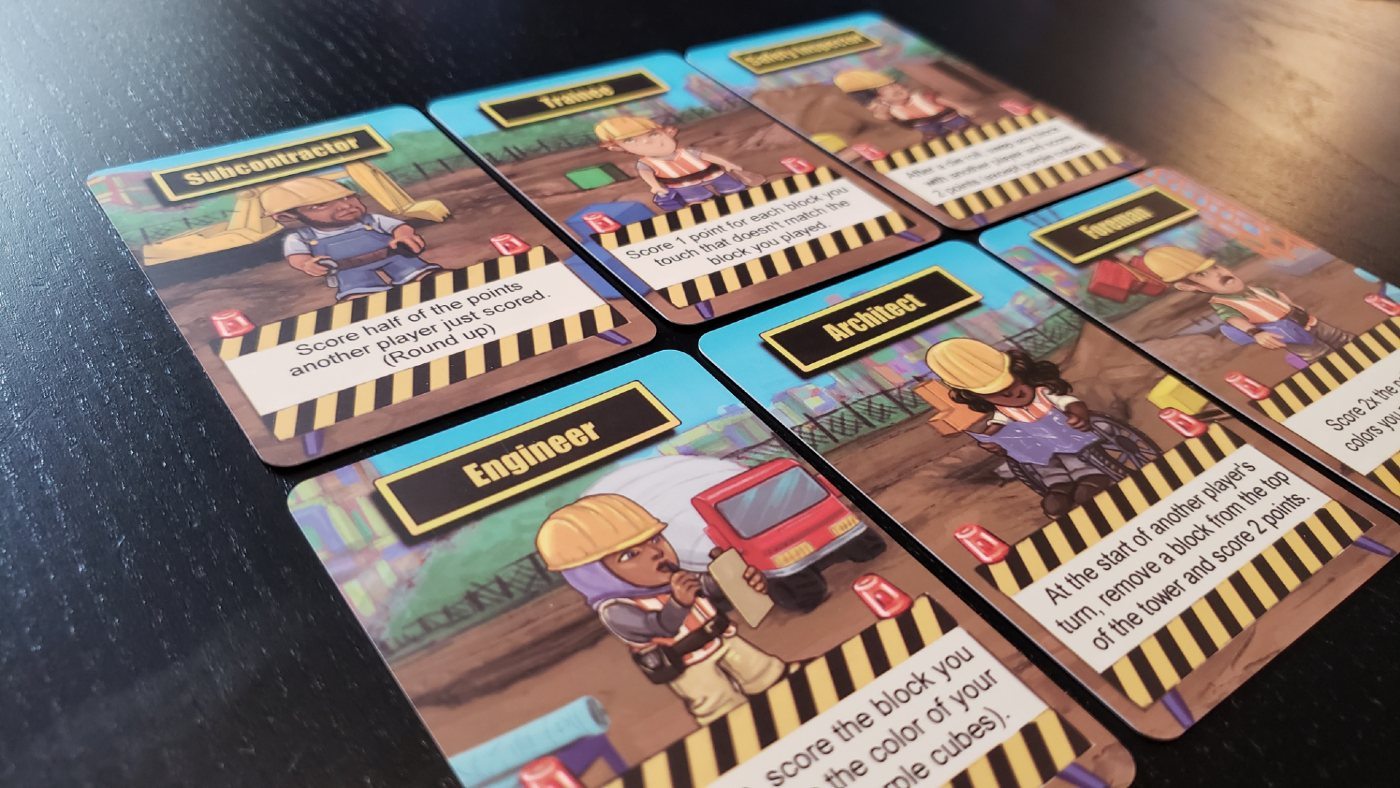 LOTS crew cards